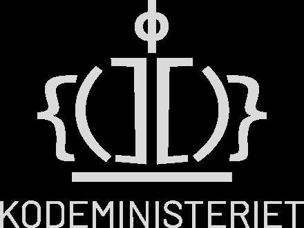 Kodeministeriet logo